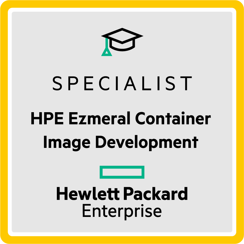 Specialist - HPE Container Image Development